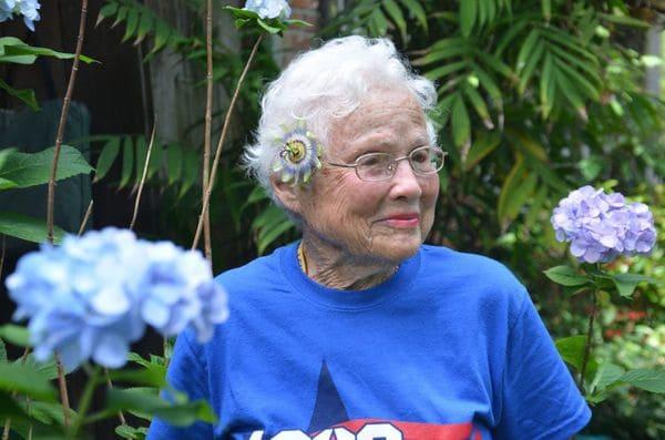 A sus 101 años, Julia Hawkins está decidida a participar en los Juegos Nacionales Senior que se celebran en Birmingham, Alabama (Sarah Netter/The Washington Post)