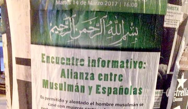 España: Los musulmanes llaman para el matrimonio a las mujeres cristianas para fortalecer el Islam