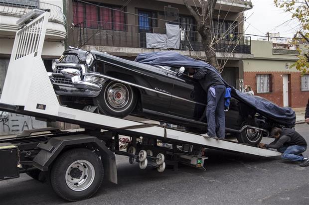 Restauración: medio siglo después, el Cadillac de Perón regresa a la Casa Rosada