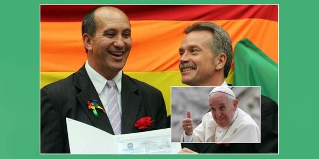 Bergoglio y los homosexuales