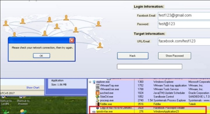 """""""Ladrón de Contraseñas de Facebook"""", el peligroso virus que circula por la web"""