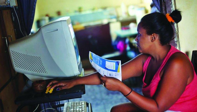 Cuba: Internet a domicilio con precios de escándalo