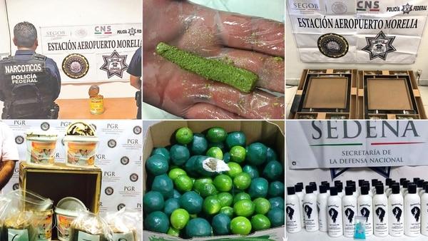 Las maneras más insólitas para ocultar la droga en México