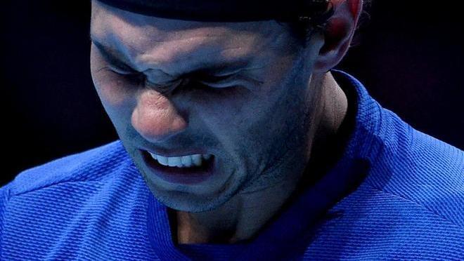 Rafa Nadal se retira de la Copa Masters tras la derrota ante Goffin