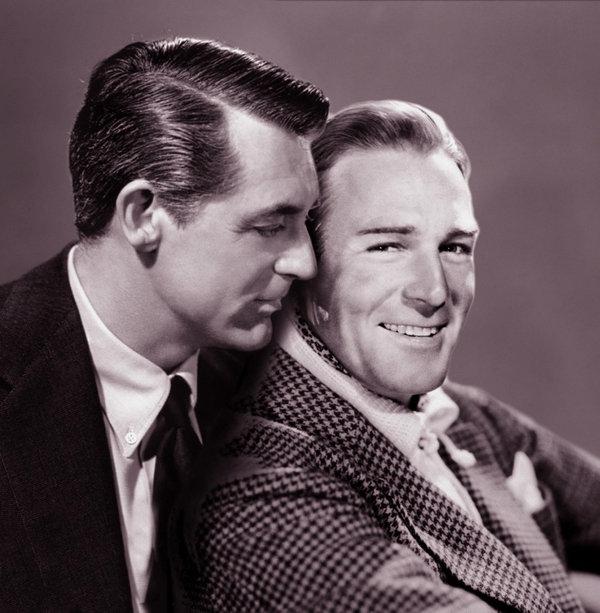 Cary y Randolph, un amor prohibido, que no quisieron ocultar