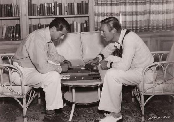 Jugando al backgammon