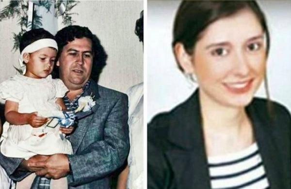 A la derecha, la única foto pública, antes de las publicadas por GENTE, de la colombiana adulta. Fotos: Instagram