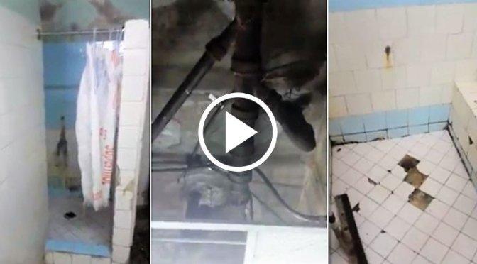 En estas condiciones están los baños de un pediátrico en La Habana