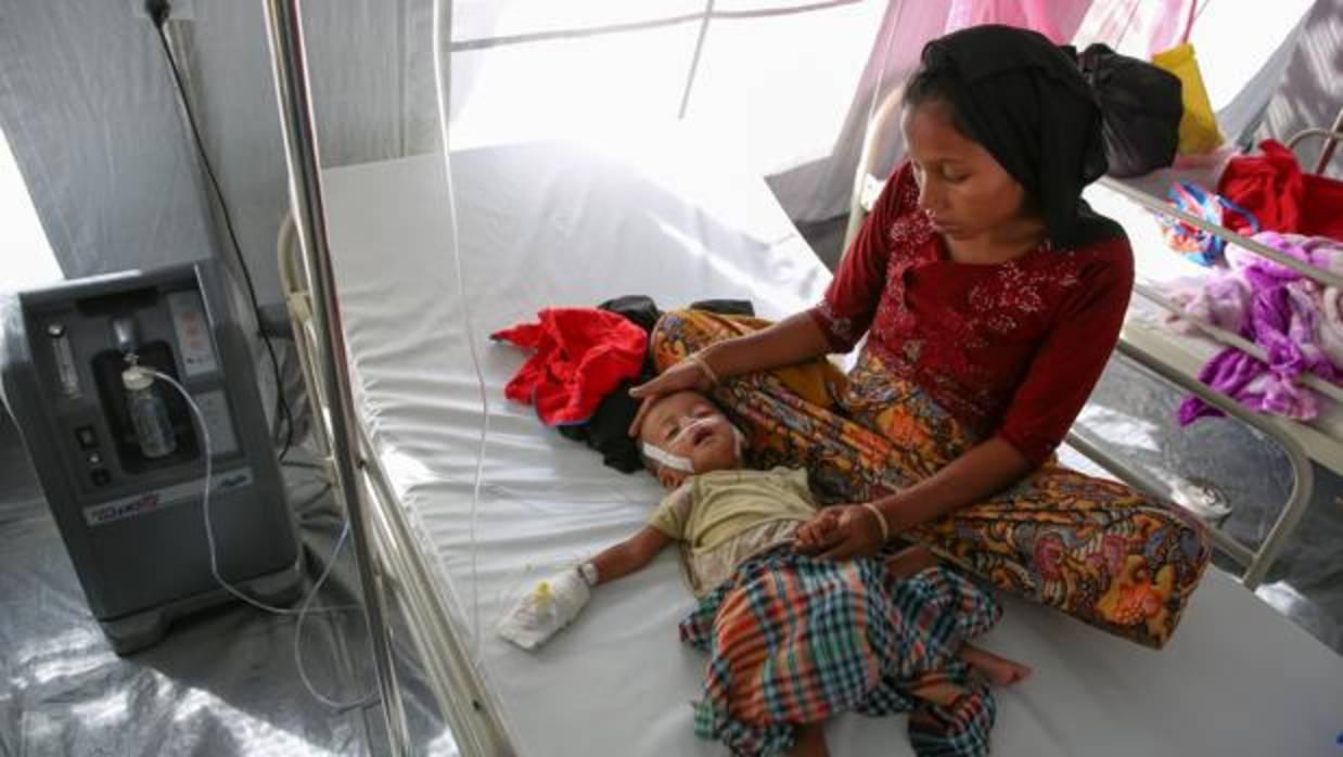 Al menos 6.700 rohingyas, incluidos 730 niños, asesinados en Birmania en tan solo un mes