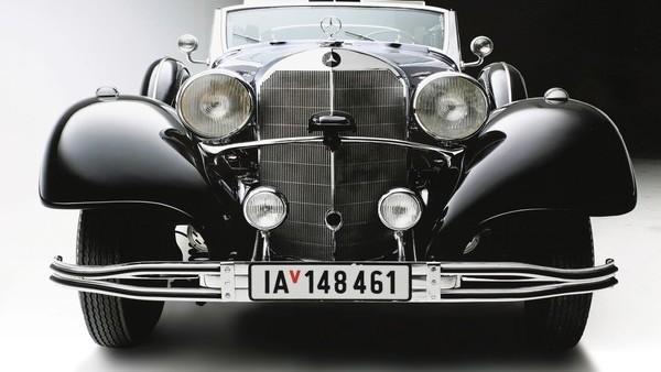 """El """"Súper Mercedes"""" de Adolf Hitler, sin comprador en una subasta"""
