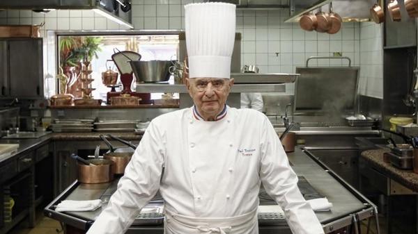 """Murió el chef Paul Bocuse, el """"papa"""" de la gastronomía francesa"""