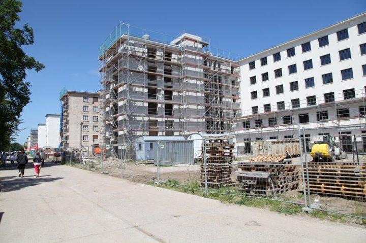 Las nuevas viviendas ocuparán varios de los ocho bloques de la estructura, divididos entre el Prora Solitaire Home y el Prora Solitaire Hotel Apartments and Spa.