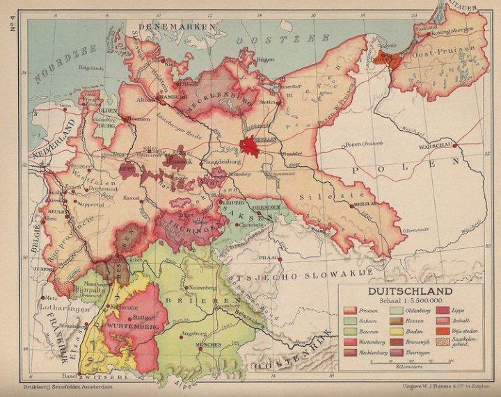 En 1936, Alemania todavía estaba enredada en el concepto de