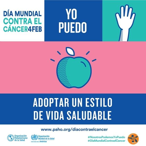 """""""Nosotros podemos. Yo puedo"""" es el lema de la campaña 2018 por el Día Mundial contra el Cáncer"""