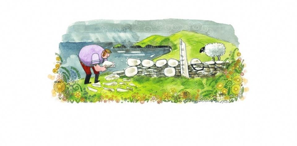 Día de San Patricio 2018: el homenaje de Google con un doodle al santo irlandés