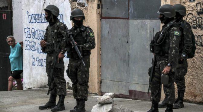 Río de Janeiro, una ciudad sumida en el silencio tras la entrada del ejército