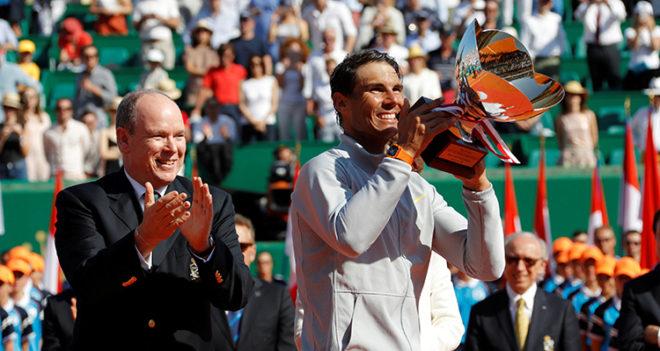 Nadal acaba con Nishikori y gana en Montecarlo su título 31 de Masters 1000