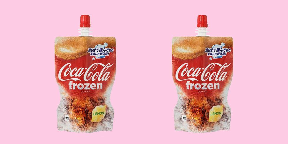Coca-Cola lanza su primera bebida 'Frozen'
