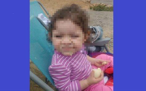 La bebita Ambar estaba bajo la custodia de
