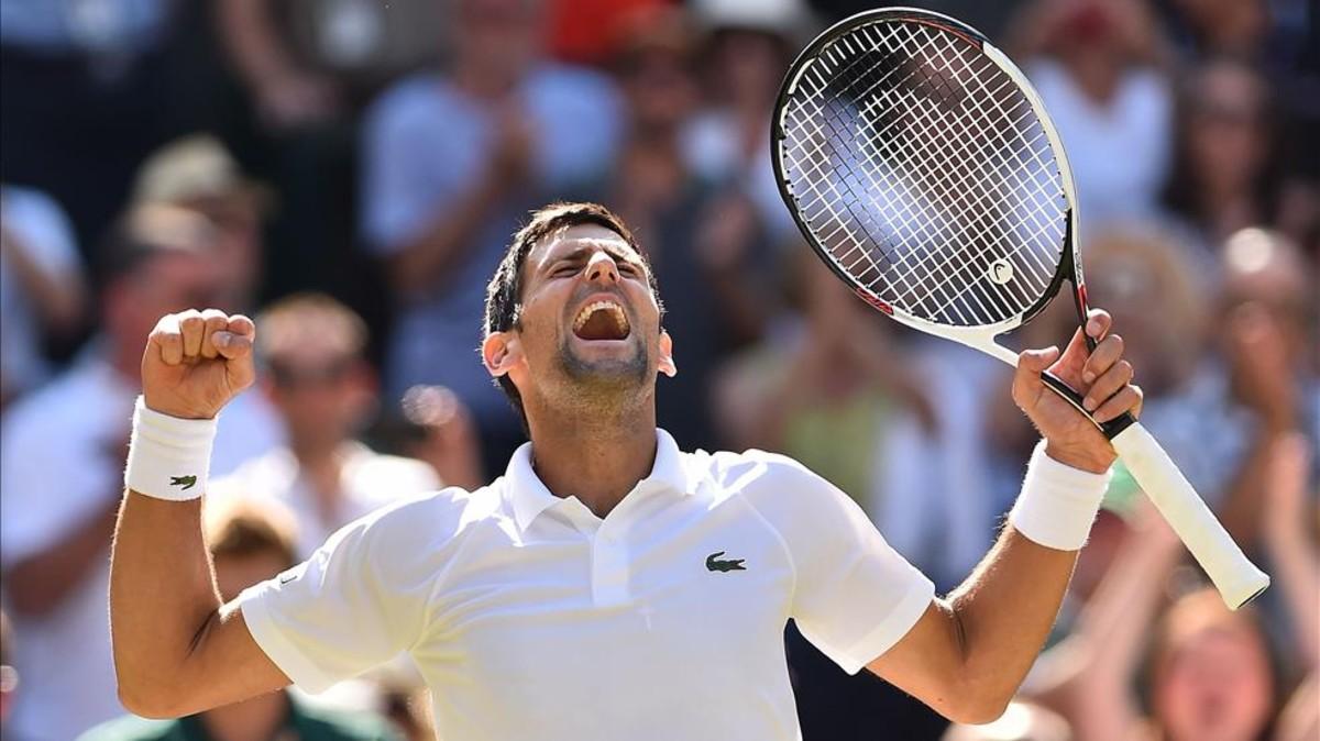 Djokovic aplasta a Anderson y se proclama campeón en Wimbledon