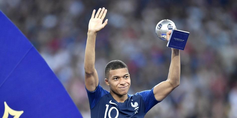 Mbappé, el mejor jugador joven de la Copa del Mundo