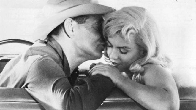 Descubren las imágenes del desnudo de Marilyn Monroe en Vidas Rebeldes, el primero de Hollywood