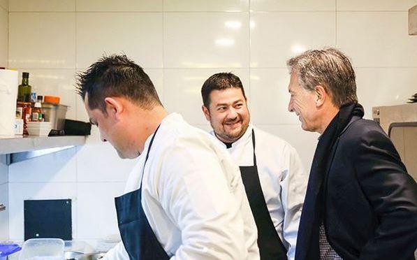 Macri invitó a chef venezolano a cocinar arepas en la Casa Rosada