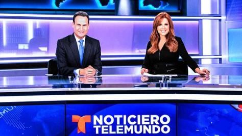 Conductores de la cadena Telemundo.