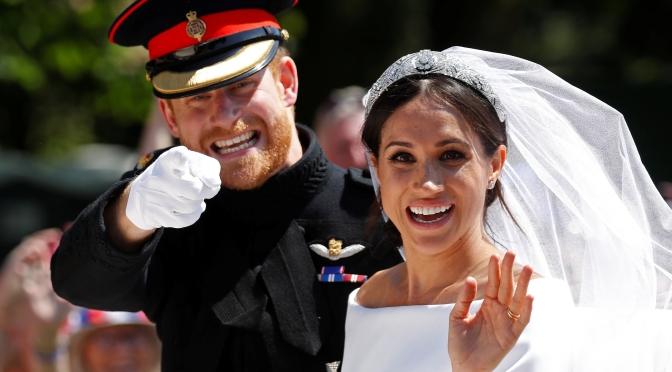 El príncipe Harry y Meghan Markle están esperando un hijo