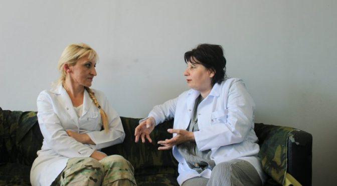La guerra no sabe de géneros: Mujeres soldados de Georgia