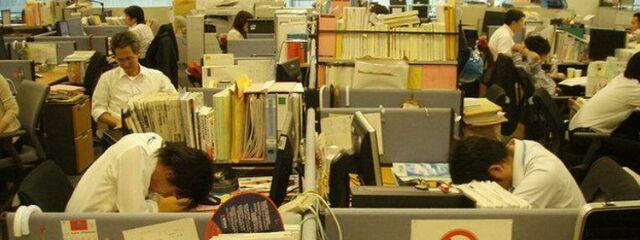 Japón permite echarse la siesta en las oficinas para evitar 2.000 muertes al año