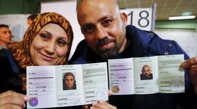 Casarse con un refugiado en Alemania como medida solidaria