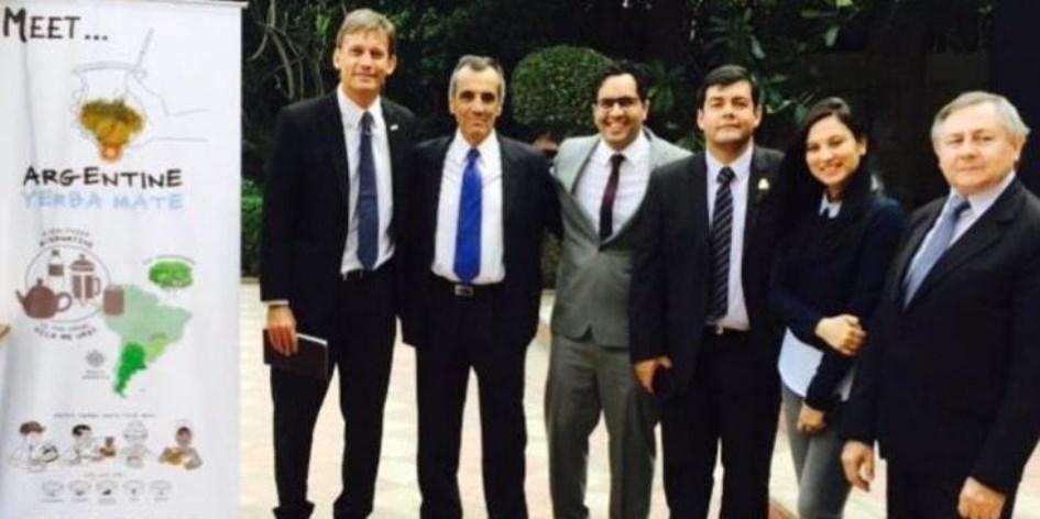Desembarco de la Yerba Mate Argentina en India