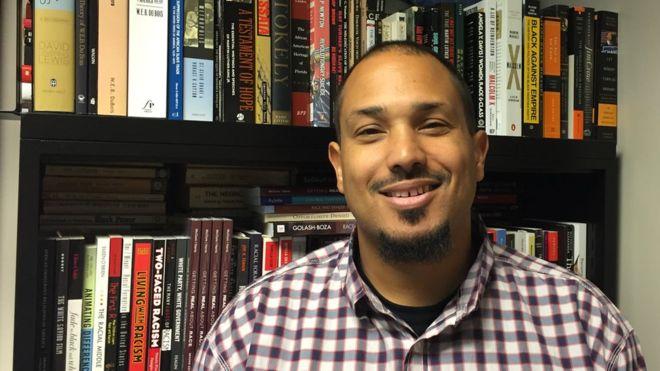 Ted Thornhill, el profesor estadounidense que enseña que solo los blancos pueden ser racistas (y dicta sus clases con escolta policial)