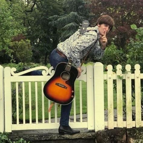 Javier Parisi, el John Lennon argentino (Instagram/ javiparisi)