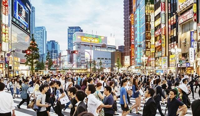 "Japón ""se achica"" visiblemente"