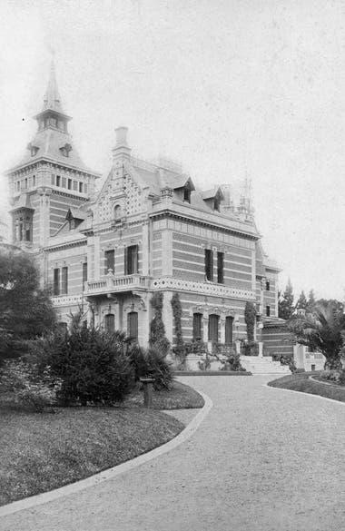 La quinta de Bouwer ya siendo Villa Mihanovich,circa-1900.