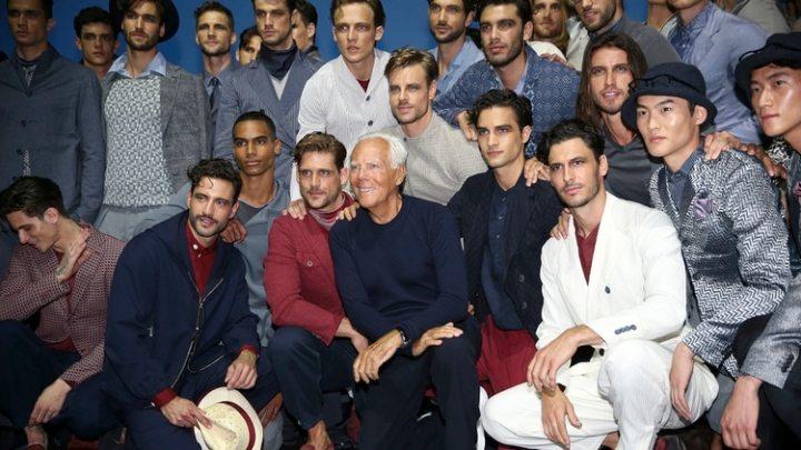 Con el retiro de Valentino hace algunos años y la muerte de Karl Lagerfeld en febrero de este año, Armani se consagró como el último gran ícono de la moda de los últimos tiempos (AP)