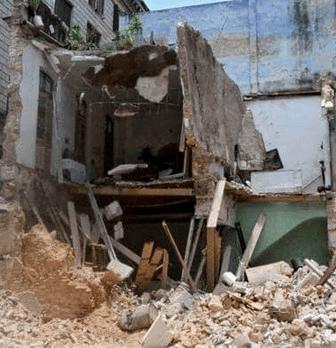 La Habana se desintegra bajo los derrumbes
