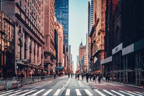 Inmenso, siempre genial, Nueva York