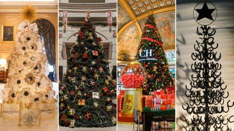 Árboles de Navidad en la Ciudad: los detalles y el diseño de los más representativos e icónicos