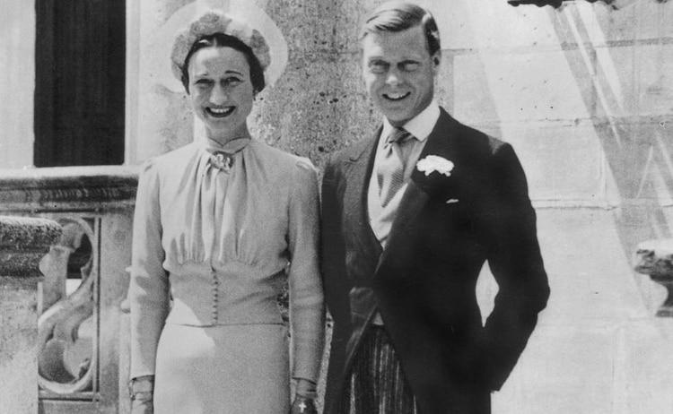 Wallis Simpson y Eduardo VIII, duques de Windsor, se exiliaron a París, Francia, en 1937 (Foto: Cortesía)
