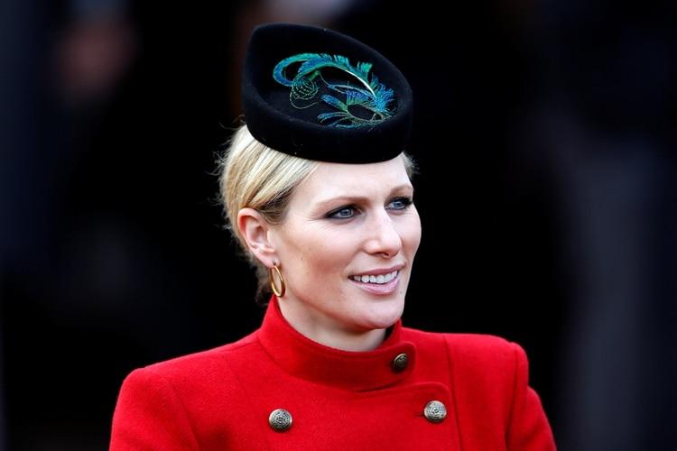 Zara Phillips, la hija menor de la princesa Ana de Reino Unido, está casada con el ex jugador de rugby británico Mike Tindall, y tiene dos hijos. No tiene títulos nobiliarios ni recibe fondos públicos ( REUTERS)