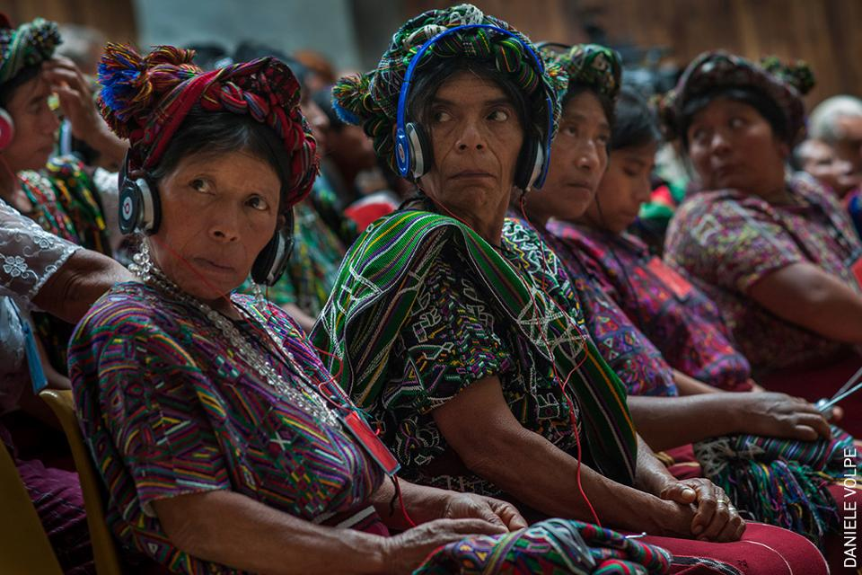 Los indígenas mayas ixil de Guatemala