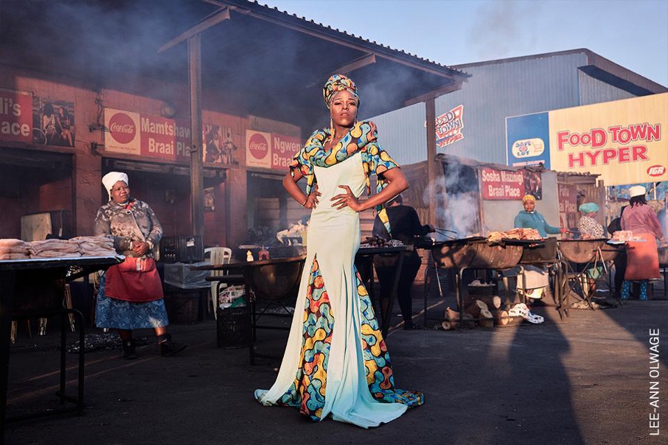 artista de arrastre en Ciudad del Cabo