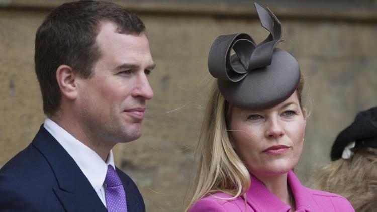 Peter Phillips y su ahora ex esposa Autumn Kelly continúan compartiendo una casa en Gatcombe Park, la residencia real de la princesa Ana, situada en el condado de Gloucestershire (Shutterstock)