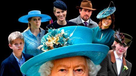 Los otros nietos que tampoco le dan paz a la reina Isabel II: quiénes son y de qué viven los menos conocidos