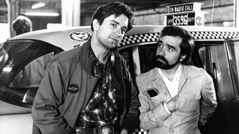 Robert De Niro y Martin Scorsese, en rodaje de Taxi Driver. Foto: Archivo DEF.
