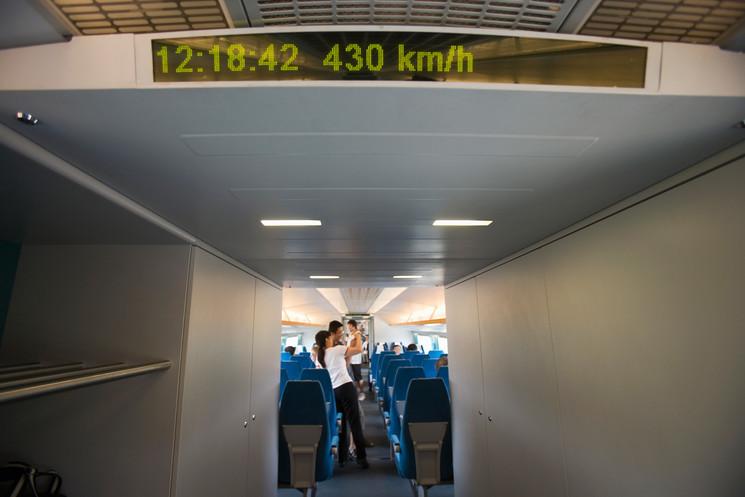 ¿Preparado para viajar a más de 600 kilómetros por hora?