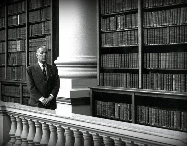Borges en la Biblioteca Nacional